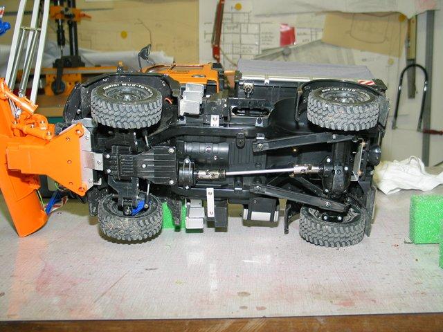 Unimog U300 die Technik des Umbaus